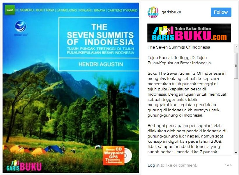 The Seven Summits Of Indonesia Tujuh Puncak Tertinggi Di Tujuh Kepulauan Besar Indonesia 7 Summits Expedition